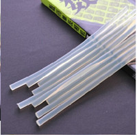Wholesale 100pcs x270 mm Clear Glue Adhesive Sticks For Hot Melt Gun Car sticks Audio Craft Headwear Headbands Hair Accessories DIY Tools Accessories