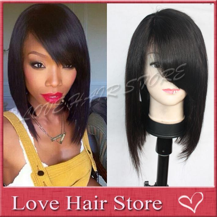 Human Hair Wigs Free Shipping   Sammydress