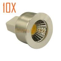 Wholesale dimmable GU4 MR11 W cob LED Light Energy Saving Spotlight Bulbs cool White Warm White