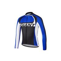 Wholesale 2014 Giant Cycling Jerseys Long Sleeves Mountain Bike Shirts High Quality Fast Color Fashion Cycling Jerseys Wear