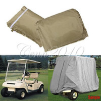 Wholesale Details about L W H Passenger Golf Cart Cover Protect Fit EZ Go Club Car Yamaha Cart