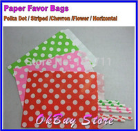Cheap Flat Paper Bags..PICK your Color(s).Wedding Gift Bags for Candy,Poncorn Bag,Kids Birthday Party Supplies Paper Lolly Loot Bags