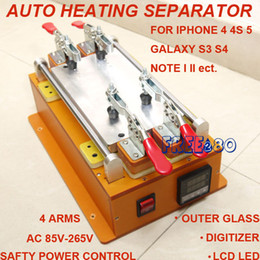 Wholesale Safety secure heat thermal separating separator machine tool for smart phone outer glass digitizer panel lcd led screen