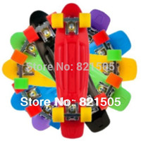 Wholesale quot Penny Nickel Stereo Retro Cruiser Skate Board Longboard Skating cruiser