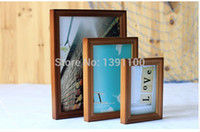 Cheap Artificial buffing Top technology Make perfect goods Free Shipping DIY Wood Photo Frame Art Picture Frame Photo frame mini