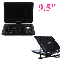 Wholesale New EVD player quot Screen Portable DVD PLAYER GAME Analog TV CD MP3 MP4 USB SD Mini Portable DVD Player