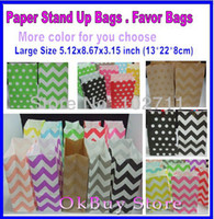 Wholesale wedding party christmas gift bags Favor Bags Wedding DIY Craft Supplies Flat Bottom Bags Lunch Merchandise Gifts Birthday Shower