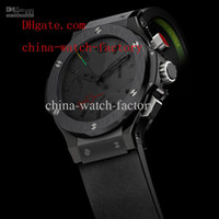Cheap 2014 - Limited Edition AAA Top Quality Wristwatch In Box Luxury Rubber Bands Japan Quartz Movement Chronograph Working Mens Watch Men's