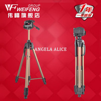 Cheap DHL gopro Weifeng wt3770 aluminum alloy tripod wt-3770 slr camera digital camera portable tripod wholesale