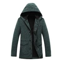 Wholesale OLRIK2014 autumn new models men s windbreaker men s fashion brand men s knit hooded windbreaker