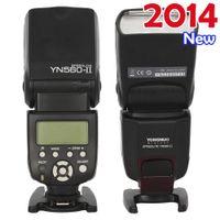 Cheap 2014 Newest YONGNUO YN560-II Flash Speedlite for Canon 60D 70D 6D 7D 650D 600D 550D,for Nikon D7100 D5100 D5200 D610 D600 D90
