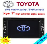Envío libre: Hilux / Fortuner / Innova / camry viejo / old corola / viejas vios / viejo RAV4 / viejo Prado-Toyota del coche DVD GPS