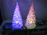 Wholesale Christmas decorations Crystal holy tree from the LED light source colour kept flashing after turn on the light