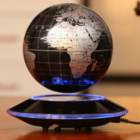 Wholesale Magnetic levitation globe creative fashion business process high end gifts office furnishing articles