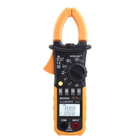 Cheap Professional Digital AC Clamp Meter w 2F Back light Multimeter fluke Multimetro Clamps Leakage HYELEC MS2008A 2000 Counts