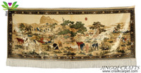 Wholesale Cultural design China handmade silk tapestry famous Chinese painting finely pattern ft ft C400T250065