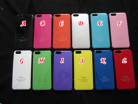 Wholesale Glossy Bling Hard Case Plastic For iphone Air G TH Protective back colorful skin cover luxury PC Apple Logo
