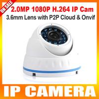 indoor mini dome ip camera - Mini IP Outdoor Dome Camera P2P Night Vision P Waterproof outdoor IP66 Network IR CUT MP HD CCTV Camera led Onvif Free Phone v