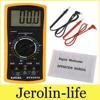 Wholesale AC DC Ammeter Voltmeter Ohm Electrical Tester Meter Professional Digital Multimeter DT9205A