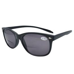 Gafas de sol wayfarers en Línea-Al por mayor-FR007-Bifocal envío libre de calidad Wayfarer Estilo largos brazos bifocales gafas de sol 1.0 - 4.0 +