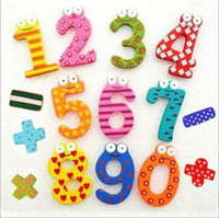 magnetic alphabet - 150PCS Baby Girls Boys Learning Toys Fridge Magnet Colorful Digital Shape Child Learning Wooden Magnetic Toddler Gifts Children s Toys A800