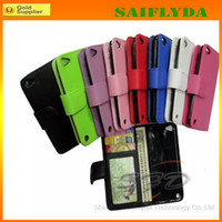Wholesale Wallet PU Flip Leather Case Cover With Card Slots Stand Holder For IPHONE plus iphone s iphone s inches