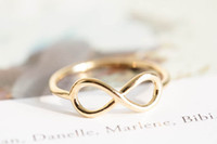 Wholesale 10pcs infinite knuckle rings infinity pinky rings infinity rings eternity rings jewelry rings anniversary ring knuckl JZ002
