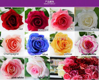 Wholesale Ivory real touch rose Latex artificial flower High Quality Home Decoration rose wedding bouquet cm high flower diameter cm