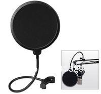 Microphone pop screen filter pop - 360 Flexible Gooseneck Holder pop filter Studio Microphone Mic Wind Screen Pop Filter Swivel Mount