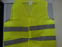DHL free !!! reflective safety vest coat Sanitation vest Tra...