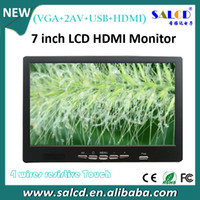 Wholesale inch HDMI car monitor with wide touch panel P HDMI input for Industrial