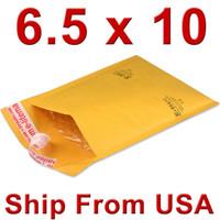Wholesale x10 mm quot x254mm quot kraft bubble bags padded envelopes bubble mailer bags UPS