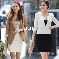 Cheap autumn skirtWhite Black New 2014 Fashion Women's Business Suit Pencil Skirt Summer Vocational OL Office step Skirts short S-XXL