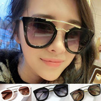 Wholesale S5Q Sunglasses Shades Glasses Fashion Women Wayfarer Classic Eyewear Retro UV400 AAADTM