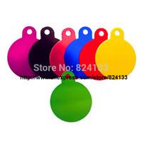 anodized aluminum tags - mm round disc pet tags dog tags pet id tags aluminum anodized mixed colors pet dog tags item