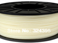 Cheap Natural Color Water-soluble PVA 3D Printer Filament 1.75 3mm, 0.5 kg Spool with Free Shipping