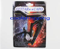 Wholesale 120pcs DHL aluminum alloy Guitar Capo Clamp For Electric Acoustic with retail package