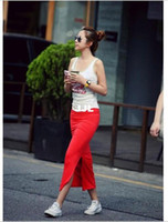Cheap autumn skirtSummer Sexy Slim Hip Full Skirts Fashion Irregular Pencil skirt female high waist placketing medium-long skirt Free Shipping