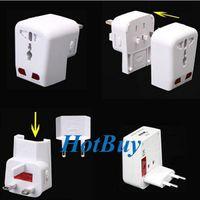 Wholesale Universal Travel Adapter AC Power Converter USB Port AU UK US EU Plug