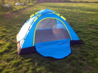 Wholesale Brand New set x145CM High quality Automatic tents Folding Single Fiberglass Outdoor Camping double tent