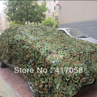 Wholesale MX4M Shade Sails Enclosure Nets Hunting Camping Military Camouflage Net Woodlands Leaves Camo Cover Awning