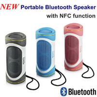 4.1 For Mobile Phone HiFi Latest Portable Wireless Bluetooth Speaker with NFC function Stereo Outdoor Speaker for iPhone iPad Computer Notebook