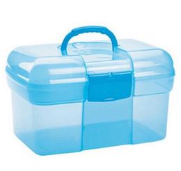 Wholesale Multi functional Storage Box Health Kits Drug Storage Boxes Layered Plastic Transparent Family Kits02