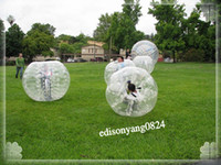 Cheap inflatable bumper ball Best soccer ball