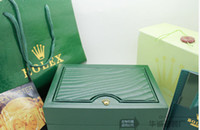 Wholesale new Mens For Rolex Watch Box Original Wooden Inner Outer Woman s Men Watches Boxes Papers