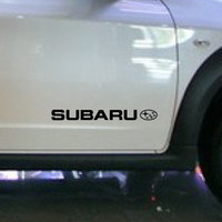 Wholesale high quality vinyl wrap reflective tape car modification stickers and decals for subaru