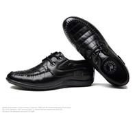 Wholesale Men s Dress shoes England Style Lace Up Adult Mens Cusp Oxford Shoes Mens Dressy Shoes