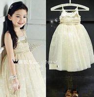 baby girl kids sequin dress sequins dress princess dress bei...