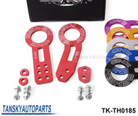 TK-TH0185 benen front tow hook - BENEN Anodized Universal Front and Rear Tow Hook Set red blue black silver golden purple TK TH0185