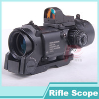 Wholesale 2016 New x fixed dual purpose scope with mini red dot scope red dot sight for rifle hunting shooting HT6